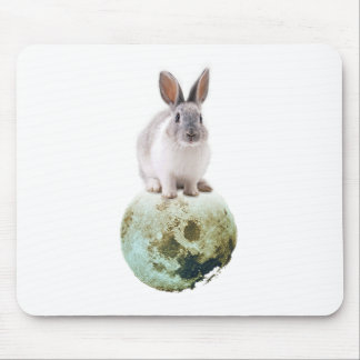 Fly me to the moon mouse mat