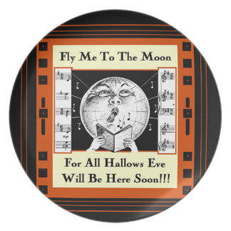 Fly Me To The Moon!!! Plate