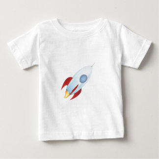 Fly me to the moon - Rocket Design Baby T-Shirt