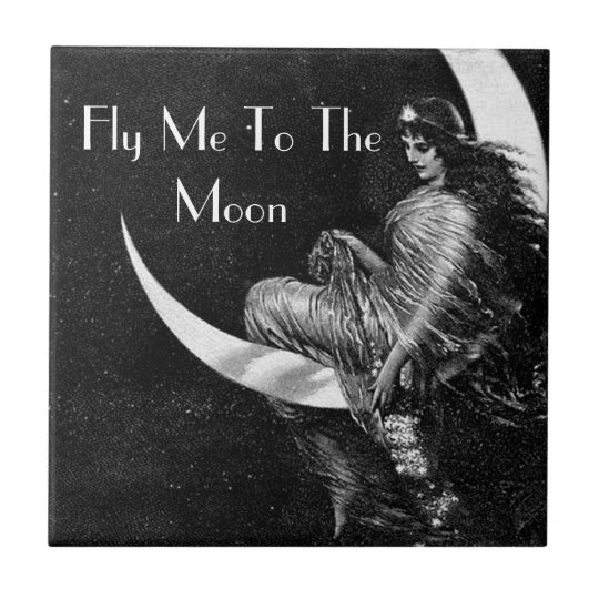 FLY ME TOO THE MOON TILE FOR WOMEN