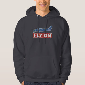 Fly On - Airplane Hoody