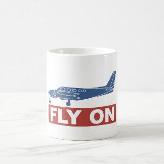 Fly On - Airplane Coffee Mugs