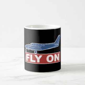 Fly On - Airplane Mugs
