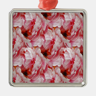 Fly on Pink Rose Christmas Ornament
