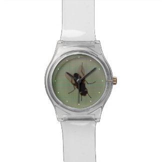 Fly On The Computer Screen Watches