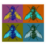Fly Pop Art Posters