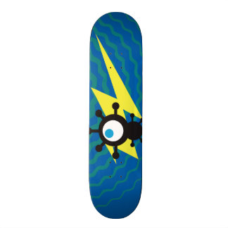 Fly Robot & Blue Energy Skate Skateboards