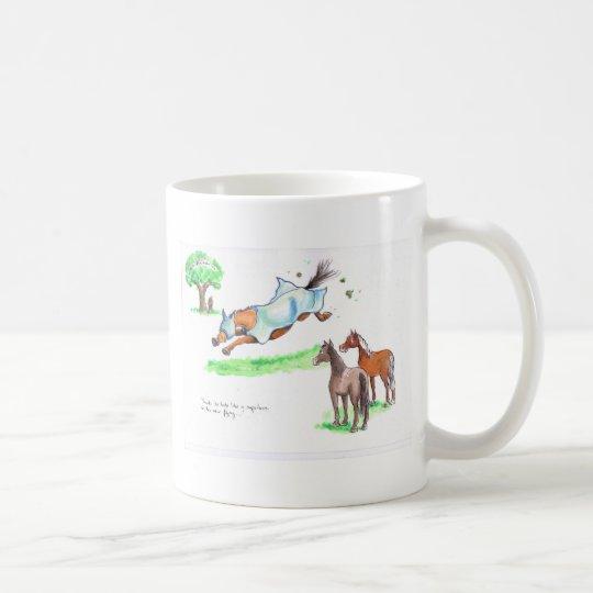 Fly Rug Superhero Coffee Mug