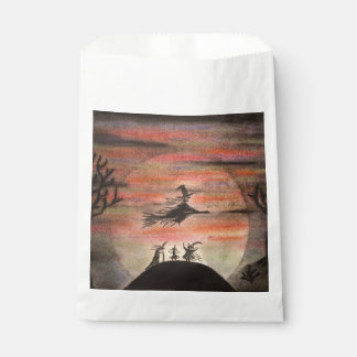 Fly Safe Halloween Favor Bags