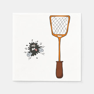 Fly Swat Paper Napkins