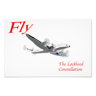 Fly the Lockheed Constellation Photo Print