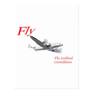 Fly the Lockheed Constellation Postcard