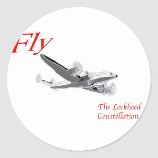 Fly the Lockheed Constellation Stickers