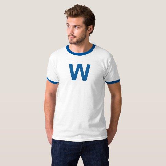 Fly The W Flag - Chicago Baseball T-Shirt
