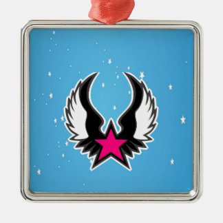Fly to bright future and success christmas ornament