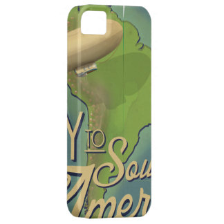 Fly To South America iPhone 5 Cover