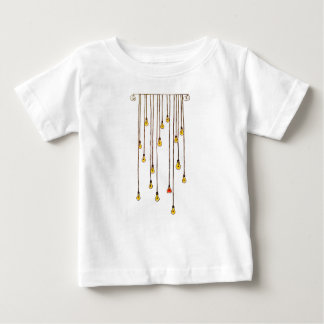 Fly to the light baby T-Shirt