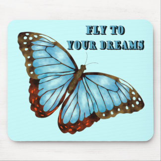 Fly to Your Dreams Mouse Mat