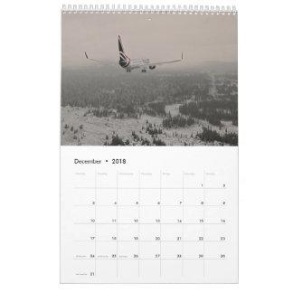 Fly UK 2018 Calendar