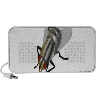 Fly vector design travelling speaker