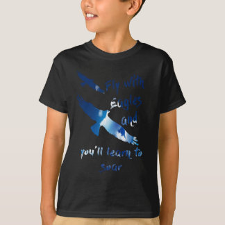 Fly with eagles T-Shirt