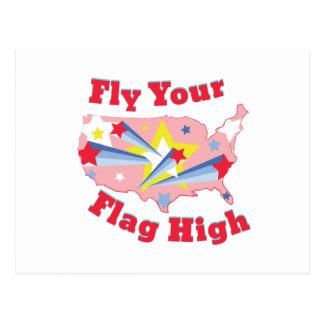 Fly Your Flag Postcard