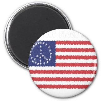 Fly Your Freak Flag 6 Cm Round Magnet
