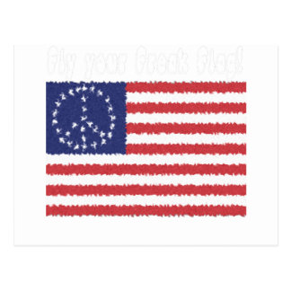 Fly Your Freak Flag Postcard