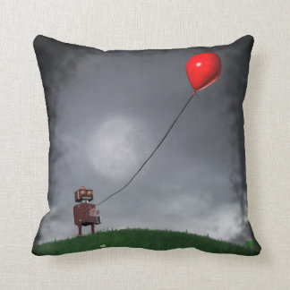 Fly Your Little Red Balloon Cushion