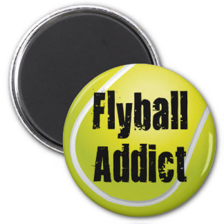 Flyball Addict Magnet