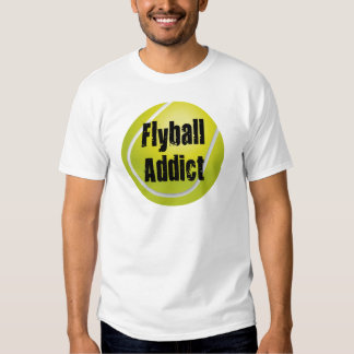 Flyball Addict T-shirts