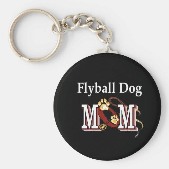Flyball Dog Mum Gifts Key Ring