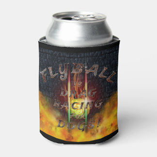 Flyball Flamz: Drag Racing for Dogs! Can Cooler