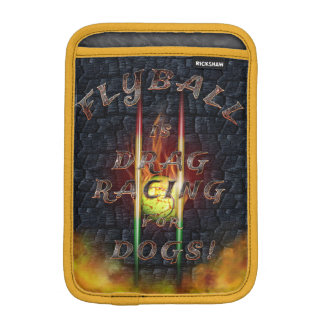 Flyball Flamz: Drag Racing for Dogs! iPad Mini Sleeve