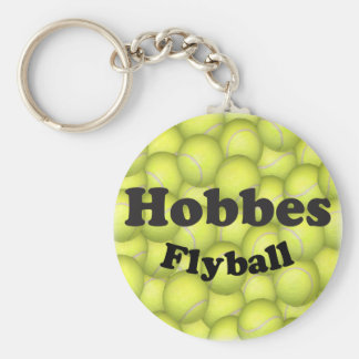 Flyball Hobbes, 100,000 Points Basic Round Button Key Ring