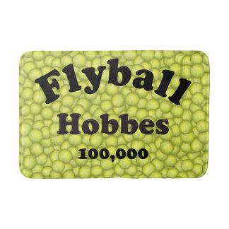 Flyball Hobbes, 100,000 Points Bath Mat