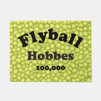 Flyball Hobbes, 100,000 Points Doormat