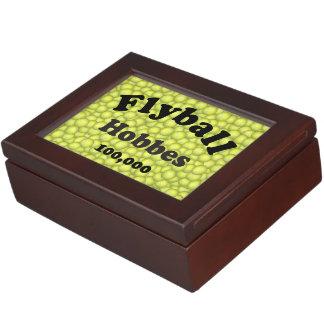 Flyball Hobbes, 100,000 Points Keepsake Box