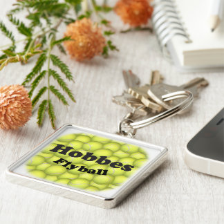 Flyball Hobbes, 100,000 Points Key Ring