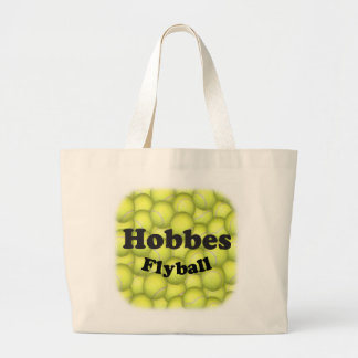 Flyball Hobbes, 100,000 Points Large Tote Bag