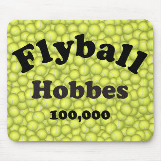 Flyball Hobbes, 100,000 Points Mouse Pad