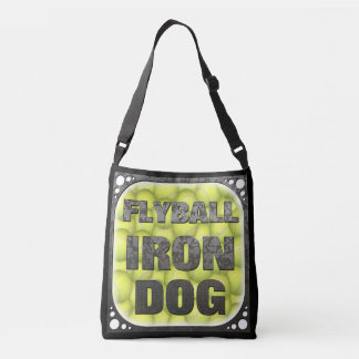 Flyball Iron Dog  - 10 years of competition! Crossbody Bag