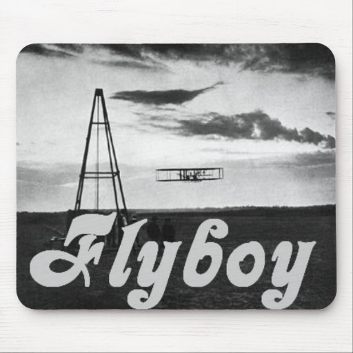Flyboy Mouse Pad