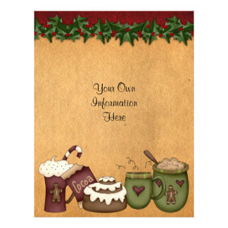 Flyer -Christmas-Cocoa-Hot Chocolate-Gingerbread