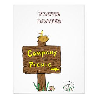 Flyer Corporate Company Picnic