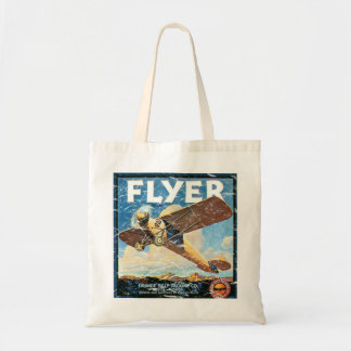 Flyer- distressed tote bags
