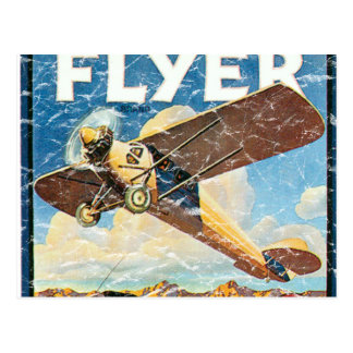 Flyer- distressed post cards