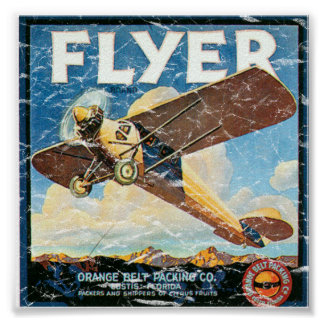 Flyer- distressed poster