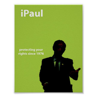 Flyer-Size iPaul poster