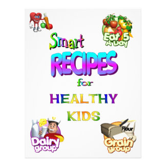 Flyer-Smart Recipes for Healthy Kids Series 21.5 Cm X 28 Cm Flyer